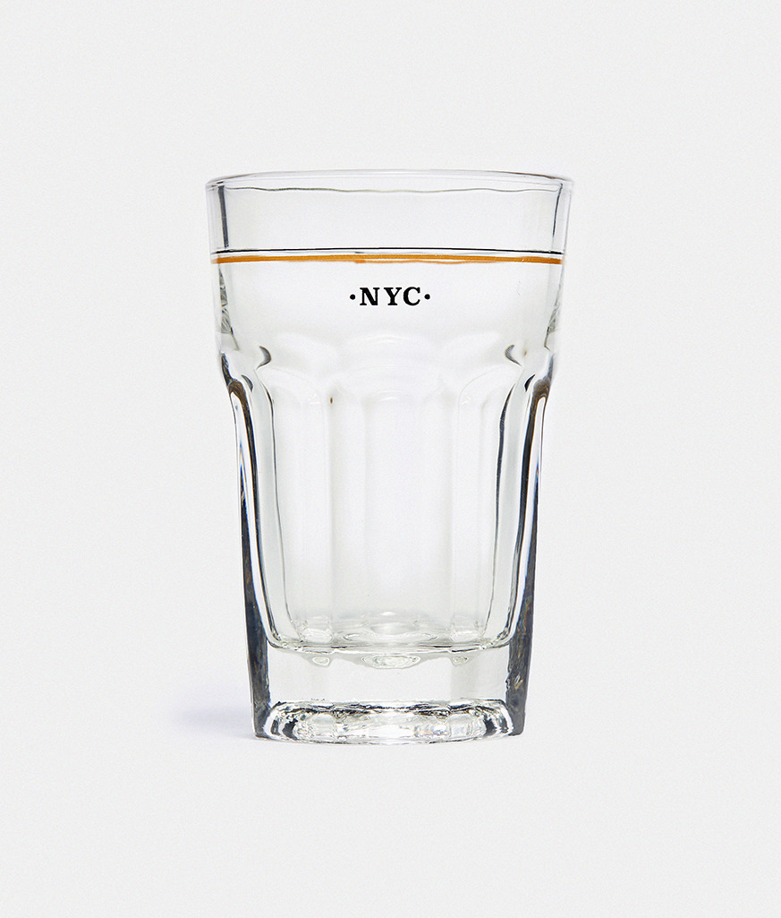 NYC OCTAGON GLASS